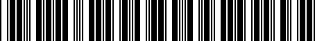 Barcode for 4F0825208H