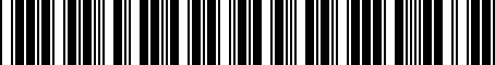 Barcode for 8K0919475T