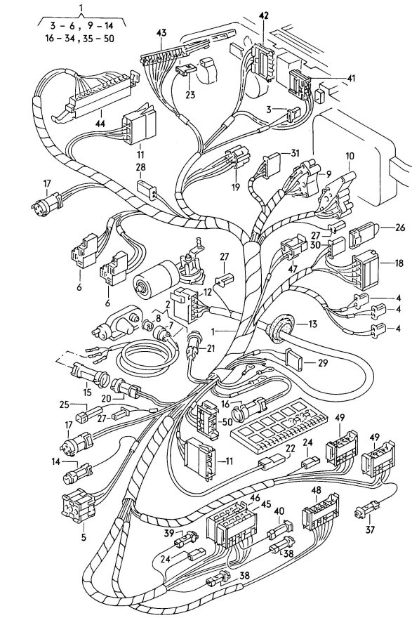 audi a6 rear fuse box mirror  audi  auto wiring diagram