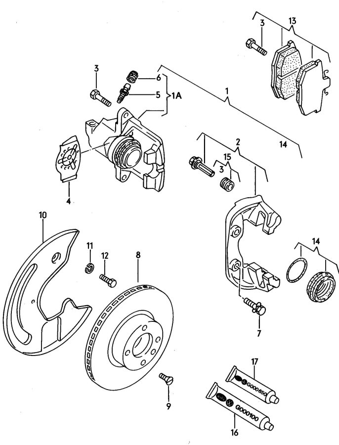 how to make brass brake pads