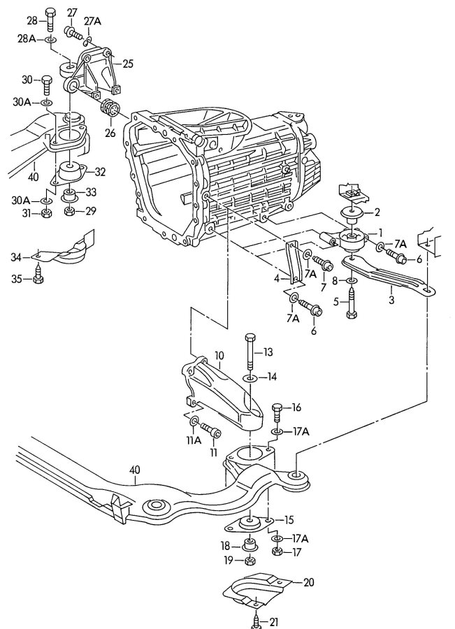 np 435 transmission parts