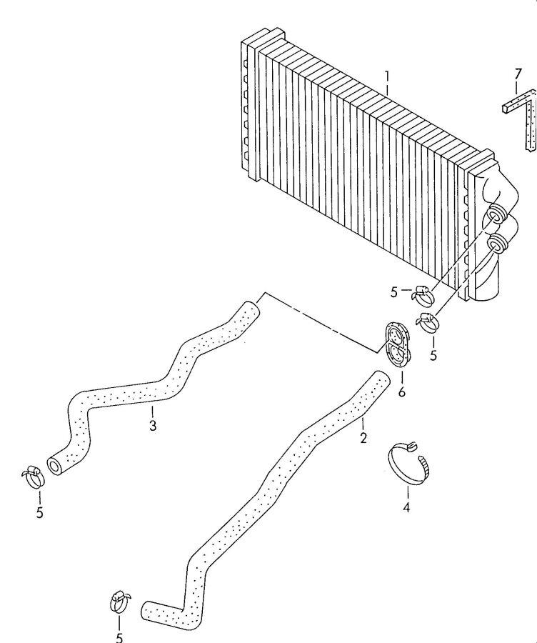 audi cabriolet water hose bleeder screw  heat exchanger u0026gt coolant p   with   bleeder screw