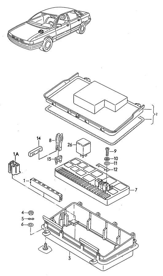 1999 porsche 996 fuse box diagram