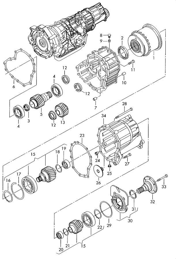 zf 5hp19fla parts