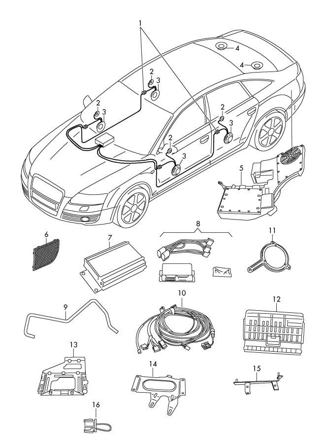 2008 audi s4 stereo wiring diagram