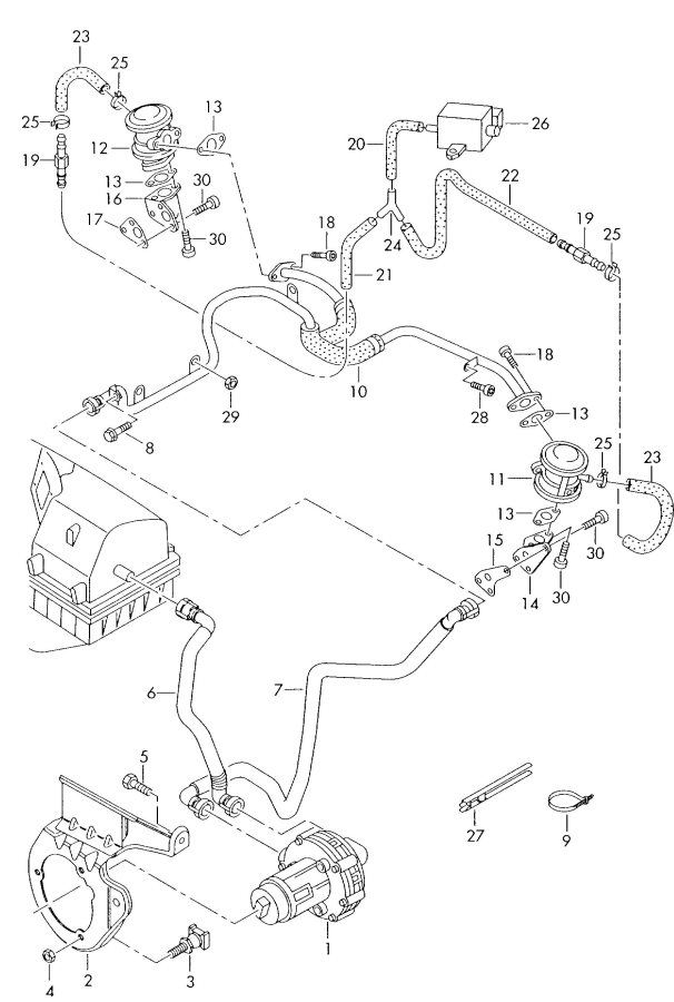 1999 audi a6 serpentine belt diagram