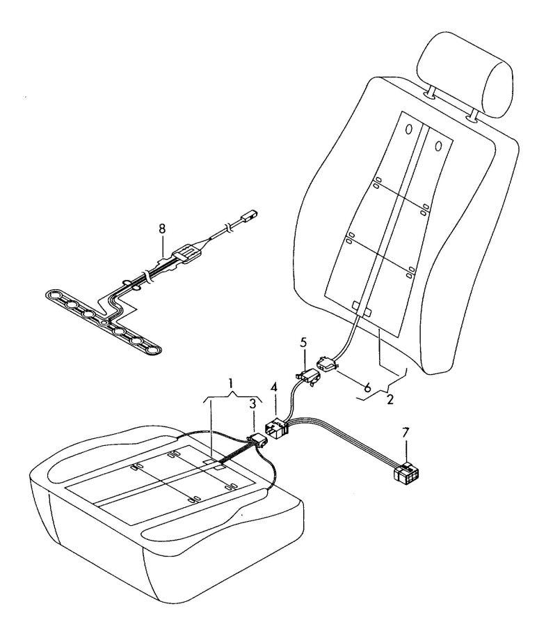 Audi Tt Wiring Seat Element. Seat. Wiring Diagrams Instructions