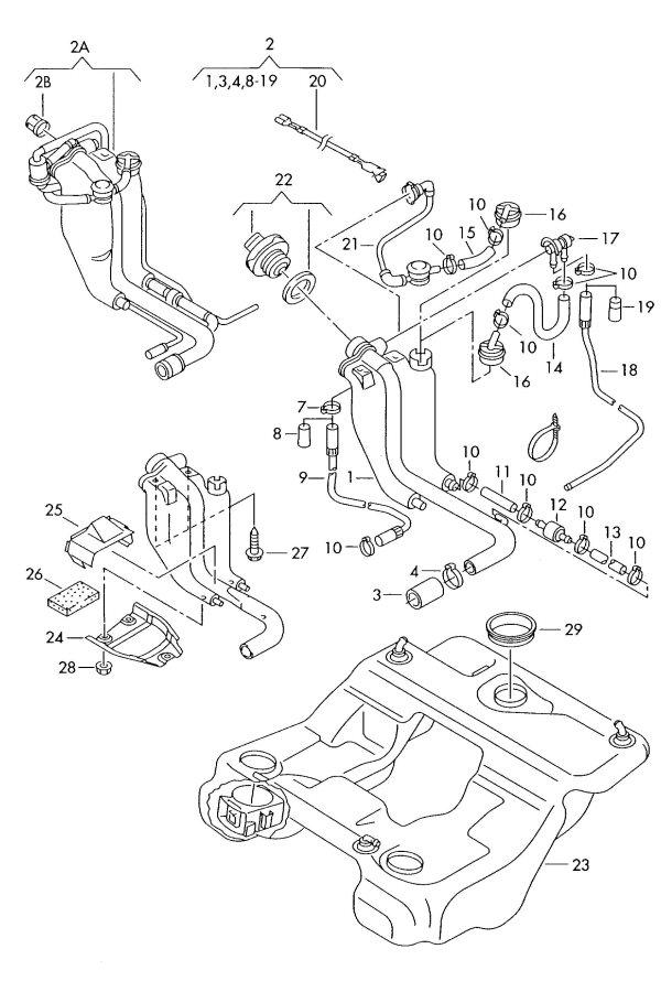 2001 Audi S6 Valve  Orvrand  Siphoning  Expansion