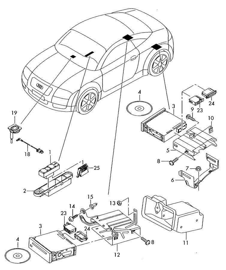 Fuse Box Audi Tt 8n