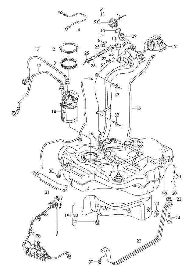 2009 Audi A3 Seal Ring  Sealing Washer  Diesel Eng