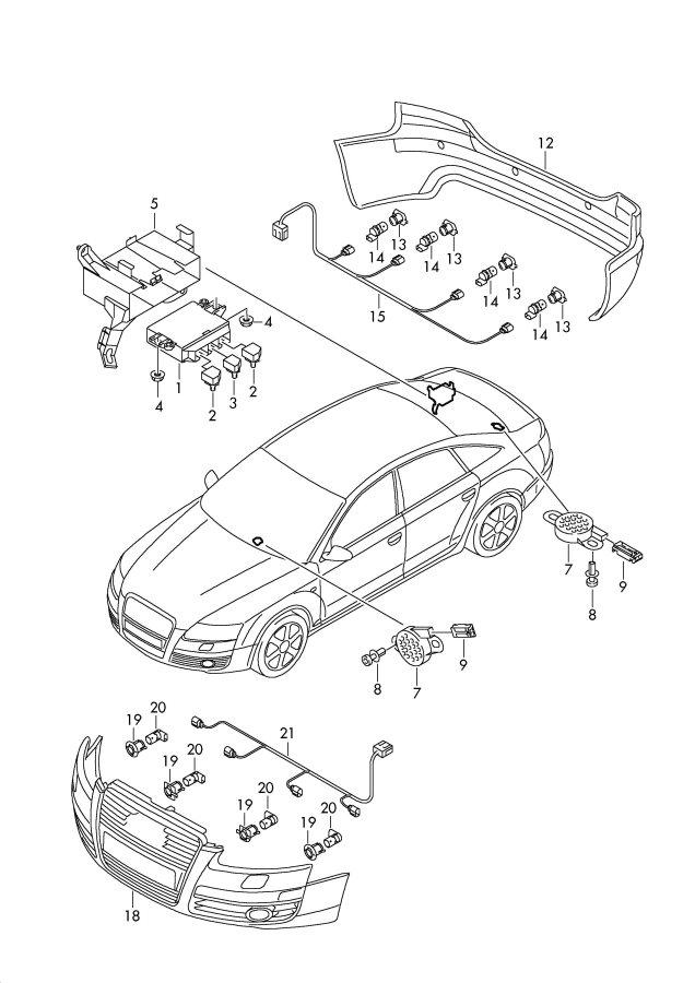 Jim Ellis Audi Atlanta >> Audi Q5 Control unit for park assist also to be used for ...