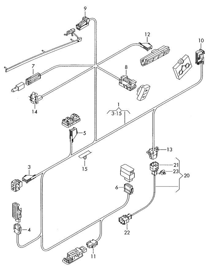 2008 Audi Q7 Lamp  Alarm