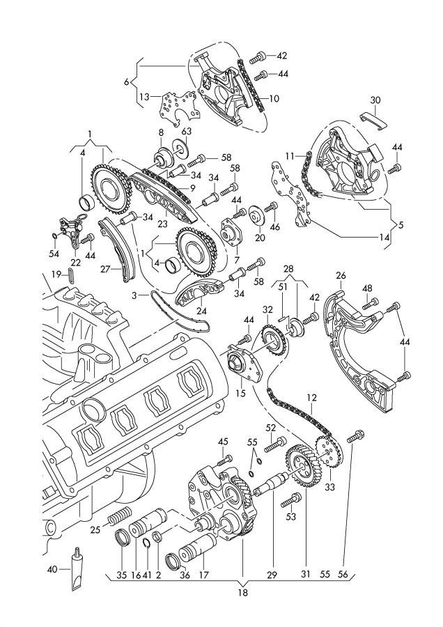 audi parts diagram timing 2 0 html