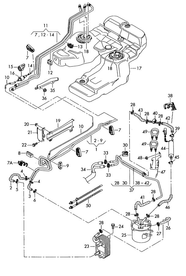 audi alternator wiring diagram