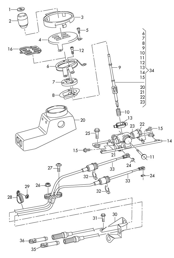 ford edge shifter diagram