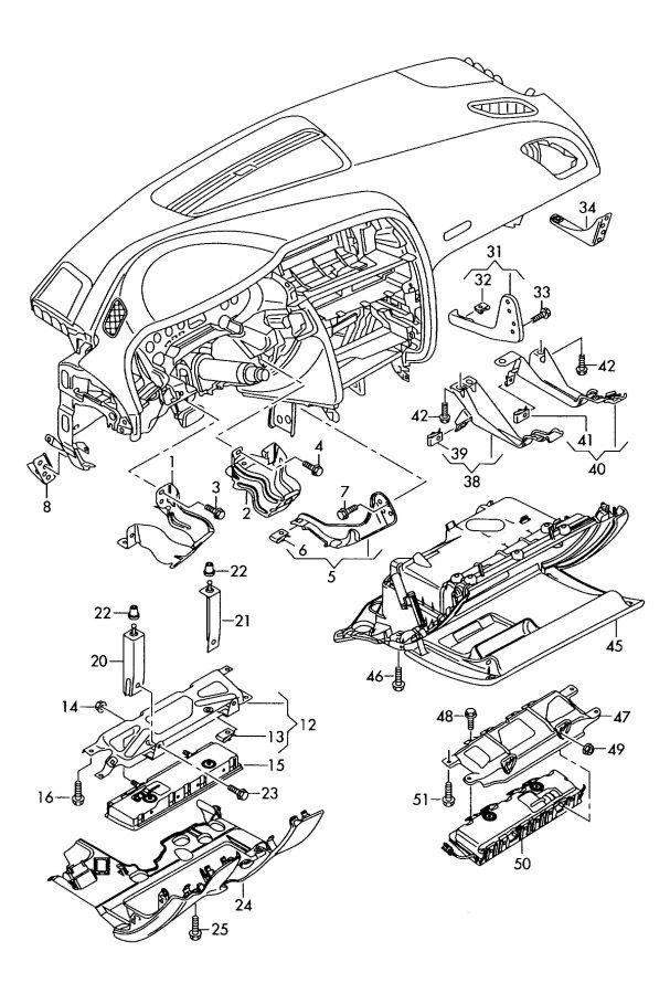 2011 Audi A5 Sportback Bracket