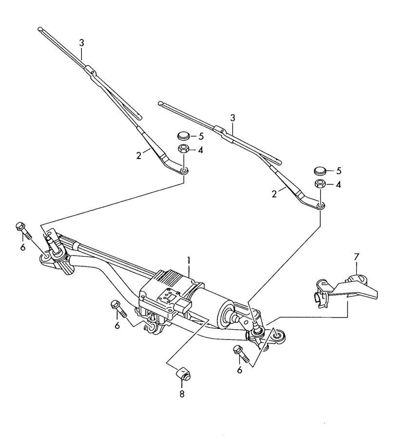 Audi       A5       Sportback    Blade  Wiper  Driver Side  WINDSHIELD WIPER BLA AEROWIPER BLADE  8T1955425A