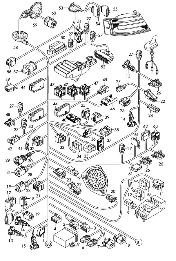 2010 Audi S5 Sportback Connecting Piece Compressor Air Supply Unit Air Conditioner Compressor