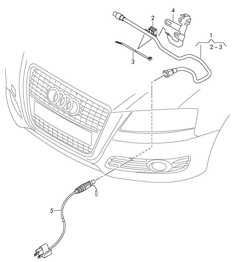 audi cord for engine block heater