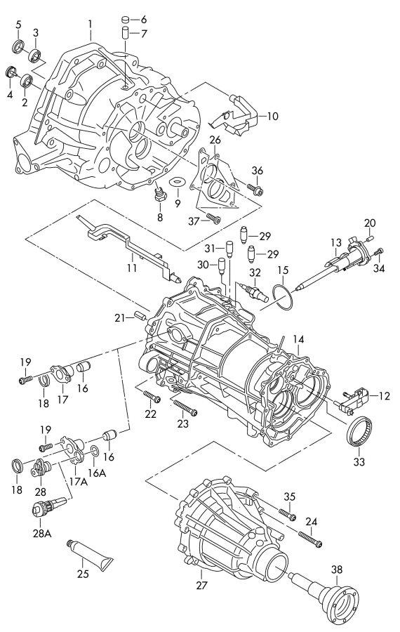 Audi A4 Diagram