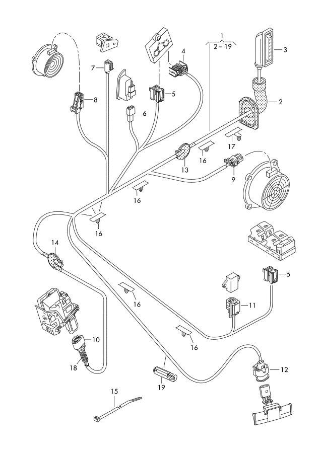 2011 Audi Q5 Oxygen Sensor Mass Air Flow Sensor Ignition Transformer Ignition Coil