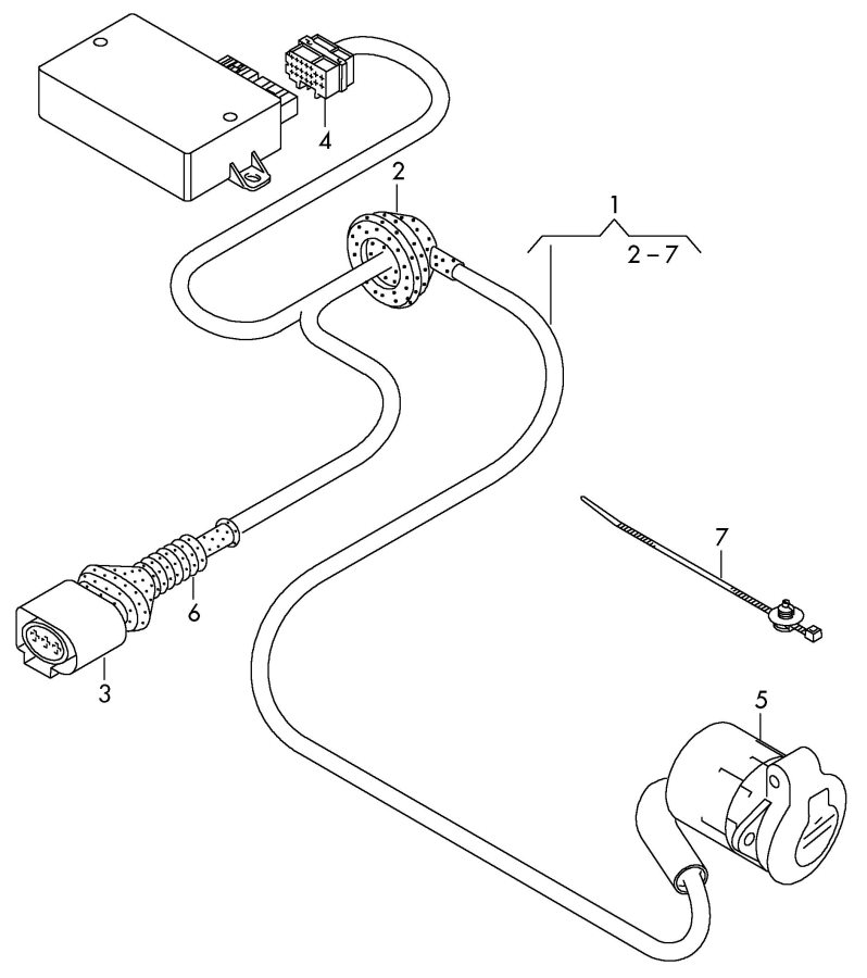 Audi Trailer Wiring Diagram Search For Diagrams Q7 Harness Q5 Get Free Image About A6
