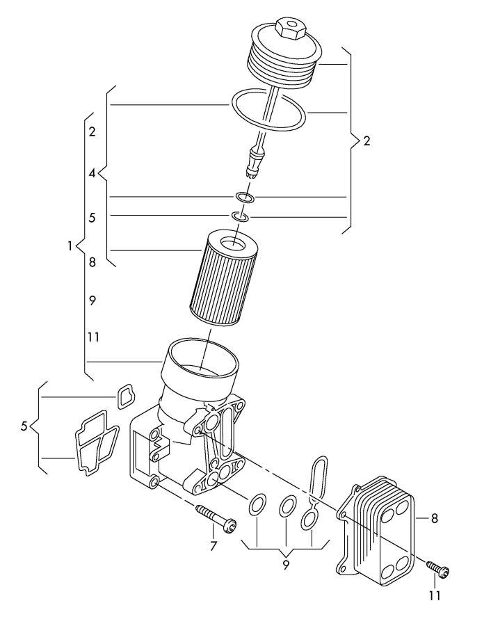 2 0 tfsi engine oil transmission oil cooler anyone do this mod. Black Bedroom Furniture Sets. Home Design Ideas