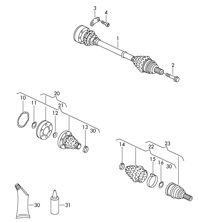 audi a3 2 0l 12-point socket shoulder screw  12 point socket  12 point screw