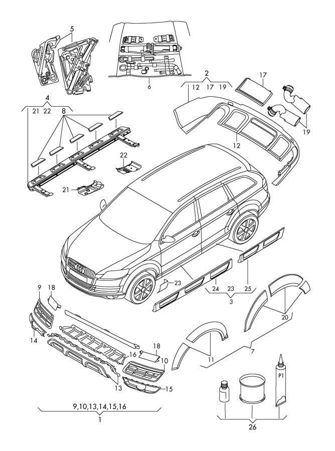 Custom Parts Custom Parts Audi