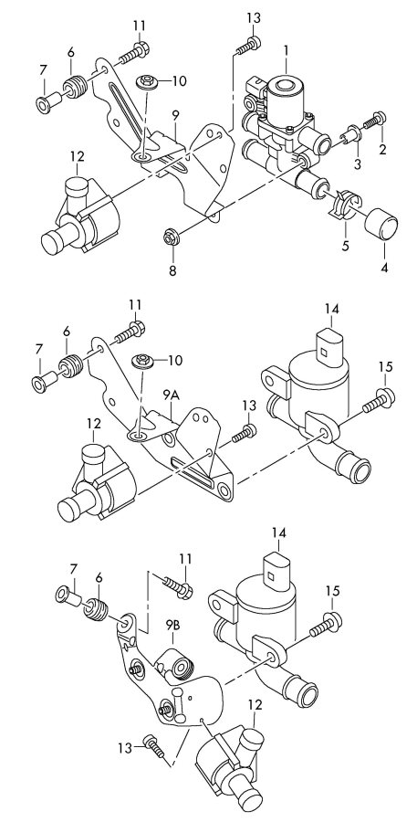 Jim Ellis Audi Atlanta >> 4H0121671B - Audi Solenoid valve. ELECTRO VALVE | Jim ...