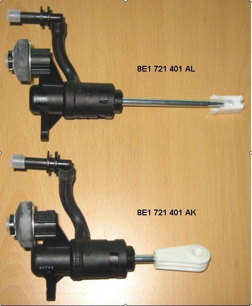 8e1721401al Audi Master Cylinder Clutch Cylinder