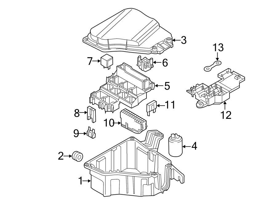 2012 audi air cleaner assy grommet  air filter housing