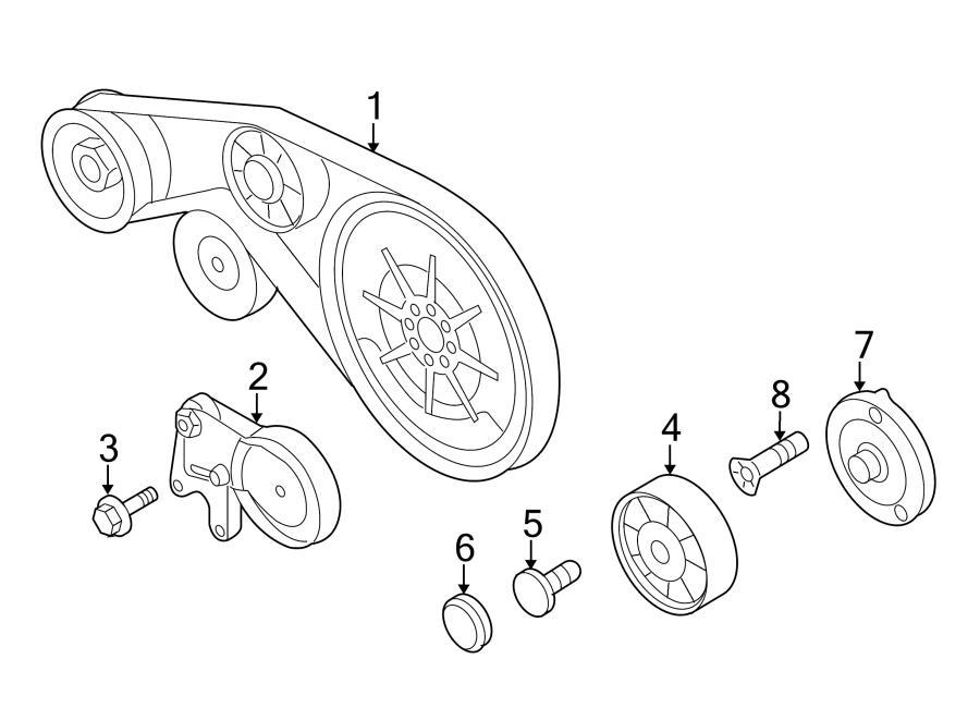 Audi A4 1 8 Serpentine Belt Routing Com