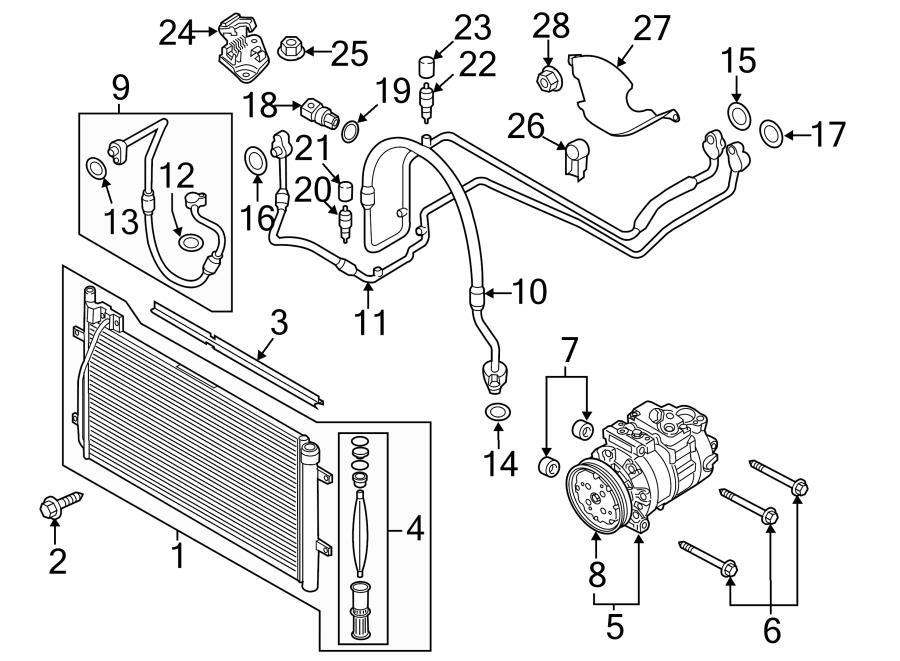 2016 Audi Q3 A  C Receiver Drier  Dehydrator