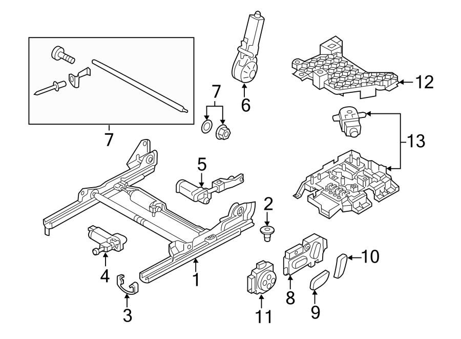 Audi Q3 Main Fuse Box