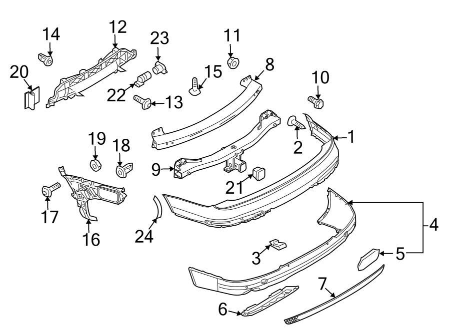 Jim Ellis Audi Atlanta >> Audi Q7 Spoiler retaining strap. HOLD DOWN STRAP. AIR DAM ...
