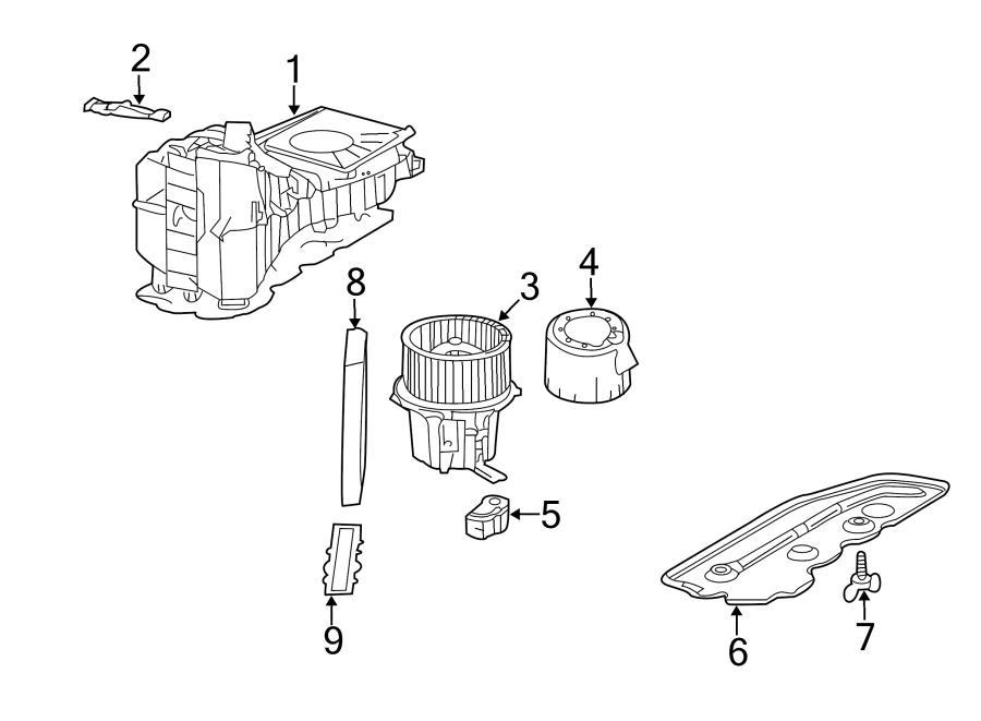 Audi S4 Control Module  Controller  Hvac Blower Motor
