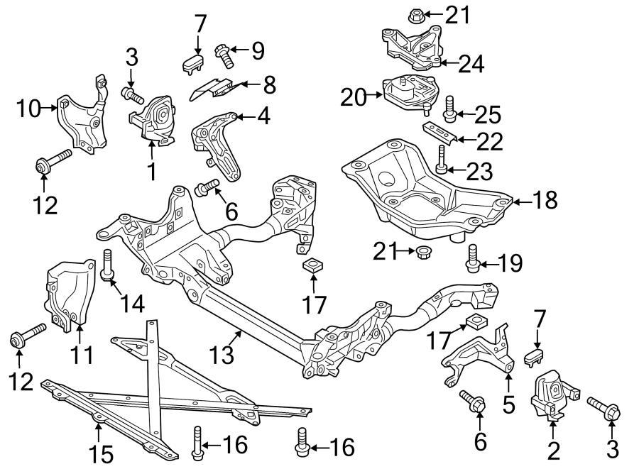 2016 Audi S4 Engine Mount  Motor Mount  Mount