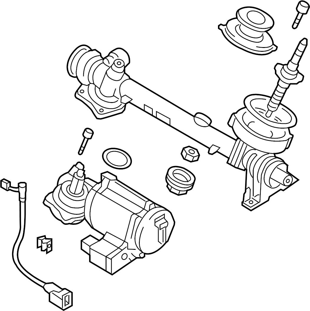 1K1423055FX - Audi Steering Gear Also Use: