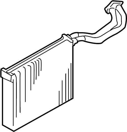 2007 audi rs4 evaporator