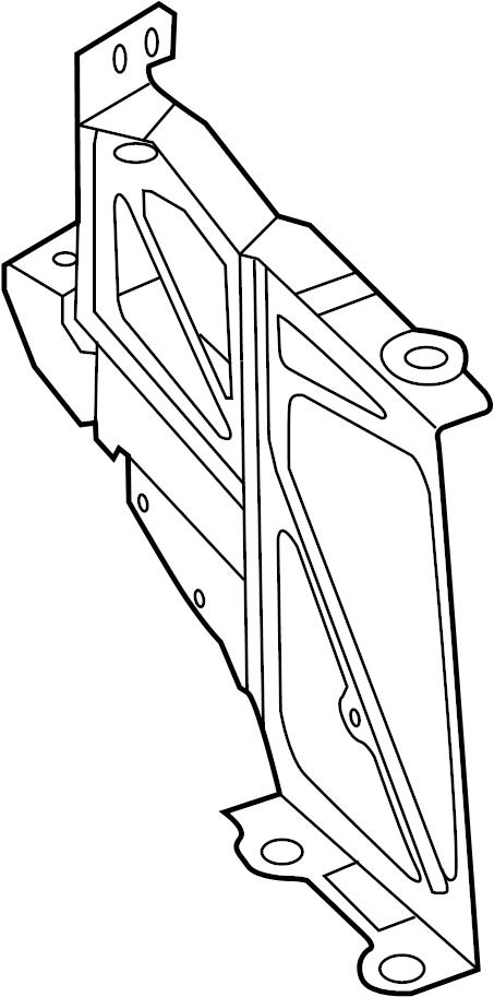 2013 Audi A7 Bracket For Additional Radiator  Additional