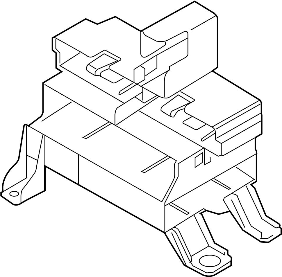 Audi A6 Mounting For Control Module Control Module