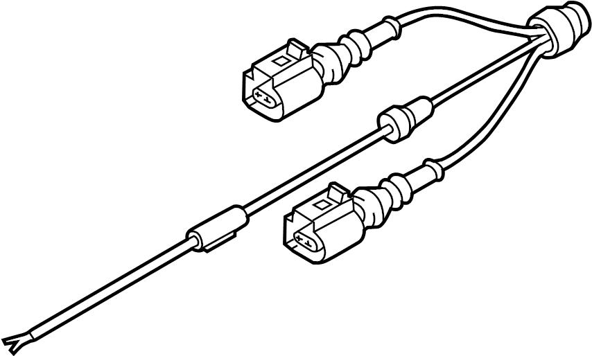 audi s7 abs sensor wire  abs wheel speed sensor wiring harness