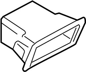 Audi A4 Instrument Panel Parts Picture