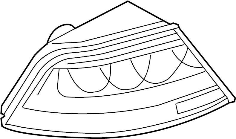 audi a7 led tail light  light emitting diode  rear light