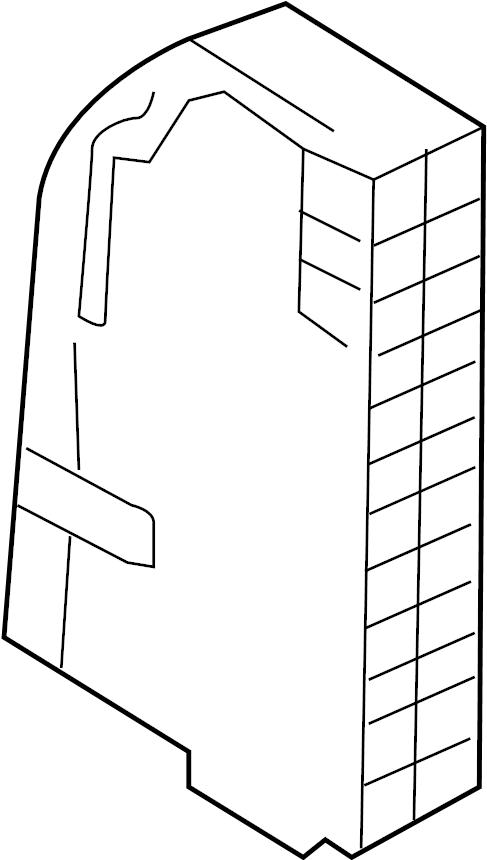 audi q7 side panel housing for centr  elec system fuse