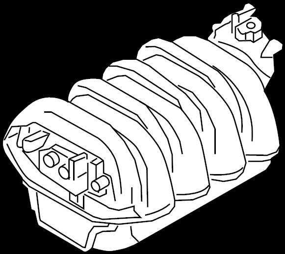 2008 Audi A5 Coupe Engine Intake Manifold  4 2 Liter  S5