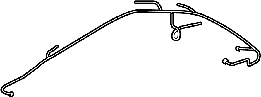 2014 Audi A5 Convertible Top Wiring Harness  Wire Harness