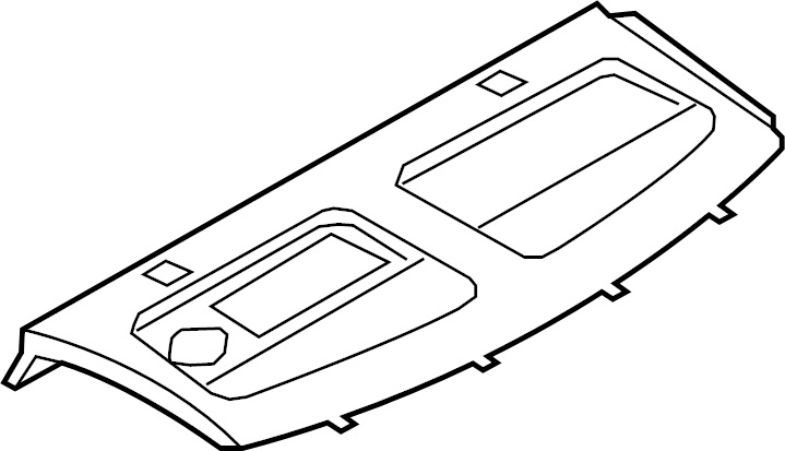 audi s5 package tray  package tray trim