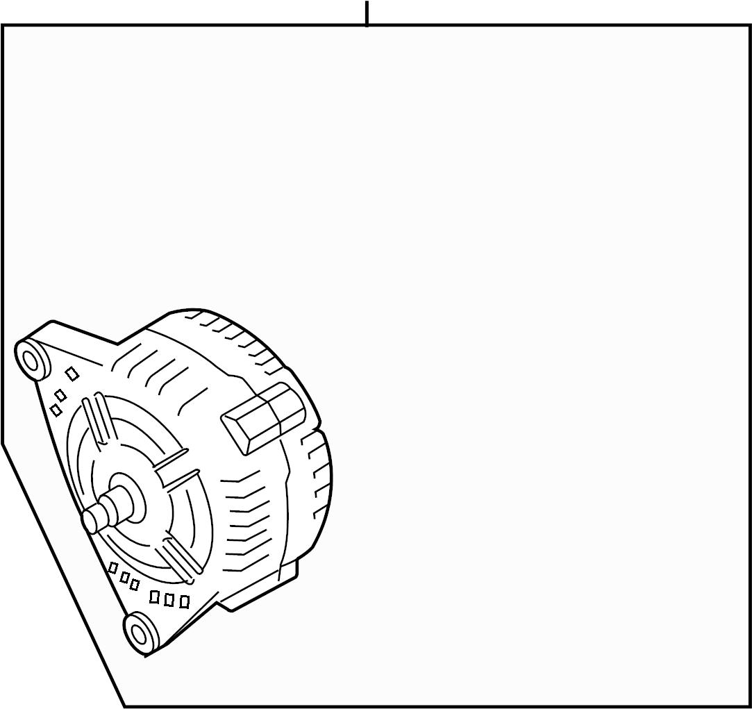079903021jx Audi Alternator Water Cooled Parts